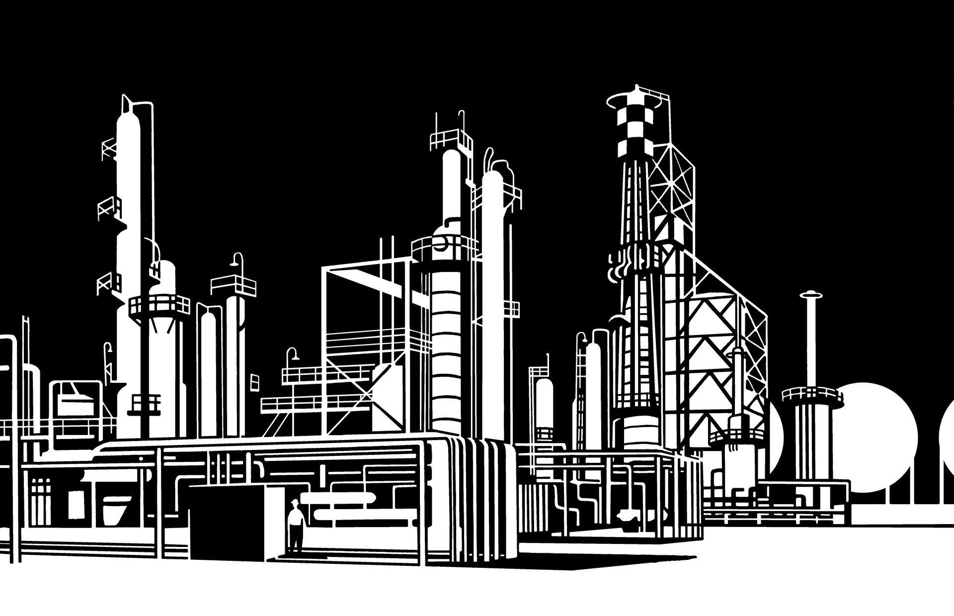 Завод картинка графика